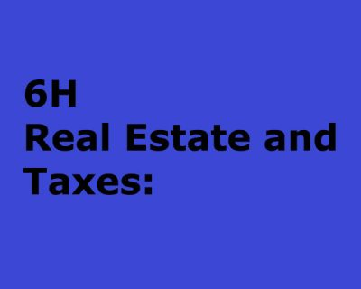 Real Estate and Taxes: What Every Agent Should Know