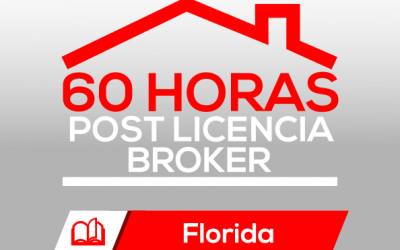 Curso Broker 60H Post Licencia Florida