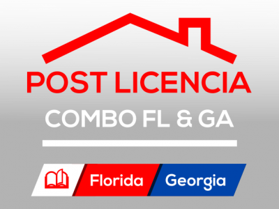 Curso Post Licencia COMBO Florida & Georgia
