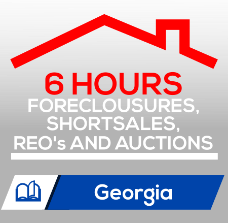 Foreclousures, Shortsales, REO's & Auctions (6 CE)